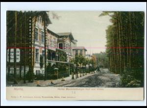 XX007004-181./ Müritz Hotel Mecklenburger Hof und Villen ca.1900 AK