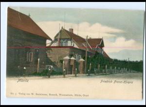 XX007003-181./ Müritz Friedrich Franz-Hospiz ca.1900 AK