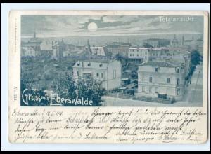 XX006965-162./ Gruß aus Eberswalde 1901 AK