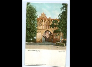XX007018-170./ Neubrandenburg Treptower Tor ca.1900 AK