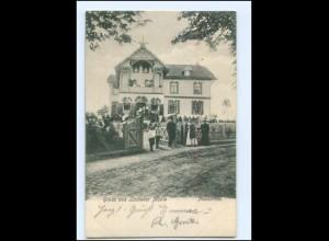 XX007049-2061/ Lasbek Lasbeker Mühle Pensionshaus 1905 AK