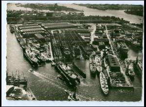 XX006871/ Tanker Esso Deutschalnd Stapellauf 1963 Howaldswerke Hamburg AK