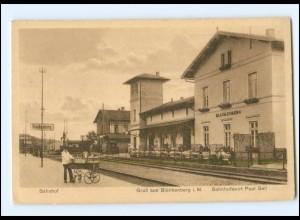 XX007225-194/ Blankenberg i. Meckl. Bahnhof ca.1925