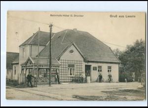 XX007373-2803/ Weyhe Leeste Bahnhofs-Hotel 1913 AK