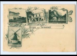 XX009237/Gruß aus Tarmstedt AK mit Bahnhof Windmühle AK 1901