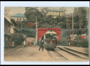 XX10197/ Yokohama Electlic Car Tunnel Straßenbahn Japan AK ca.1912