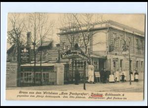 XX007540/ Berlin Pankow Wirtshaus Zum Pankgrafen 1911 AK