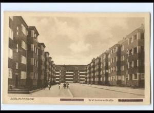 XX007539/ Berlin Pankow Wetterseestraße AK