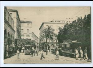 XX009114/ Alger La Place du Gouvernement Straßenbahn AK Algerien ca.1910
