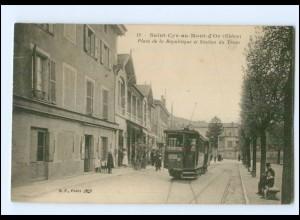 XX009122/ Saint-Cyr-au-Mont-d`Or Rhone Straßenbahn Tram Frankreich AK -694-