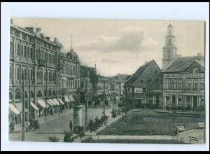 XX007757/ Lettland Libau Rosenplatz 1916 AK