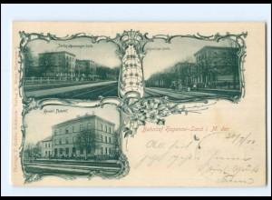 XX007871/ Hagenow Bahnhof 1900 AK