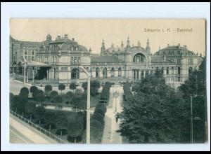 XX007869/ Schwerin Bahnhof 1916 AK
