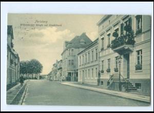 XX007603-193./ Perleberg Wittenberger Straße mit Kreditbank 1914 AK