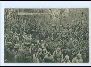 XX009129/ Der Kronprinz vom Preußen im Schützengraben 1. Weltkrieg AK