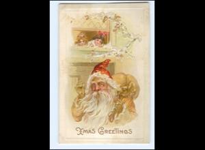 XX007668/ Weihnachtsmann Santa Claus Christmas AK ca.1910