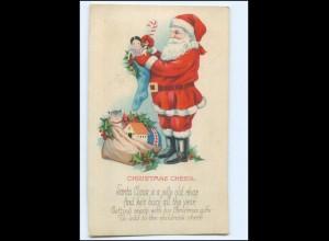 XX007667/ Weihnachtsmann Santa Claus AK ca.1925 Christmas