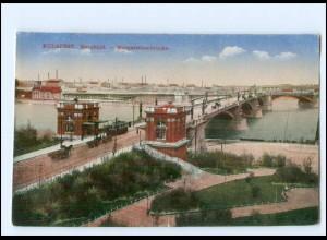 Y14519/ Budapest Margarethenbrücke Ungarn AK 1917