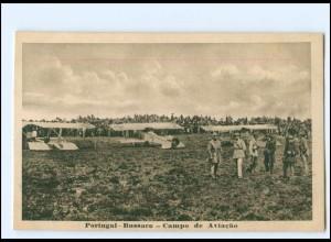 Y14548/ Portugal - Bussaca - Campo de Aviacao Flugzeuge AK ca.1915