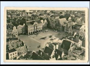 U8962/ Rostock Straßenbahn Foto AK 1941