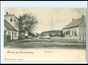 XX007997-155/ GRuß aus Hangelsberge Dorfstraße K ca.1900