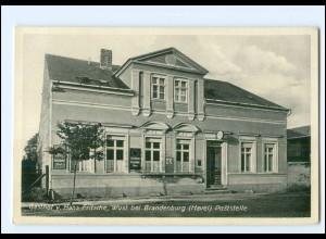 XX008561/ Wust bei Brandenburg Gasthof Hans Fritsche Poststelle AK