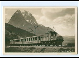 XX009071/ Bayer. Zugspitzbahn Eisenbahn Foto AK ca.1935