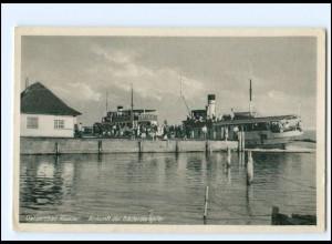 XX009073/ Hiddensee Ostseebad Kloster Bäderdampfer AK ca.1955