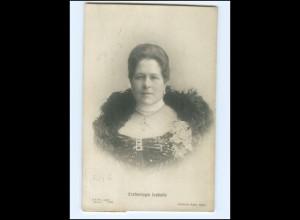 Y14557/ Erzherzogin Isabella von Österreich-Teschen Foto AK 1911