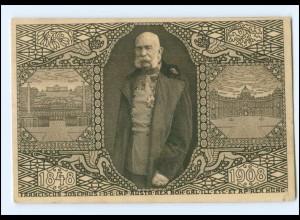 Y14586/ Kaiser Franz Josef 1848 -1908 Ganzsache AK
