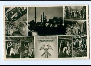 Y14660/ Gruß aus dem Ruhrgebiete Bergbau Zeche Ak 1960