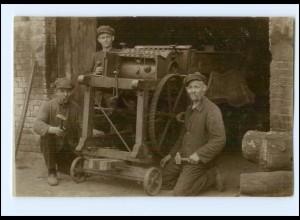 Y14661/ Schlottmann-Maschinen Schlosser Lehre 1924-27 Foto AK