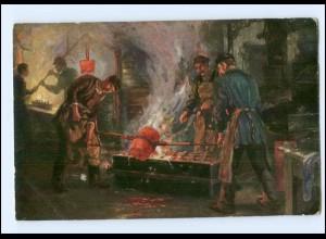 Y14668/ Eisengießerei Künstler Ak Fischer-Coerlin ca.1912