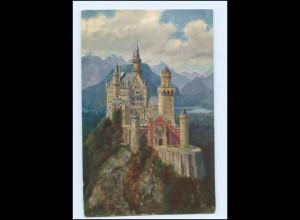 Y14678/ Schloß Neuschwanstein schöne AK ca.1912
