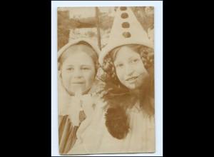 Y14684/ Karneval Fasching Kinder Mädchen Foto AK 1911