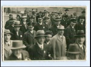 Y14685/ Politik - Tag der Arbeit 1. Mai 1935 Foto AK Ort?