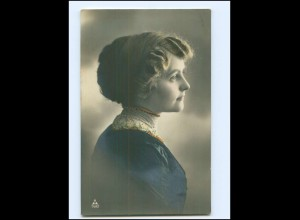 Y14695/ Junge Frau schöne Foto AK 1912