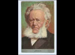 Y14713/ Henrik Ibsen Dramatiker und Lyriker AK ca.1900