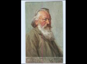 Y14719/ Komponist Johannes Brahms AK ca.1910
