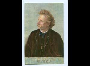 Y14722/ Komponist Edvard Grieg AK ca.1910