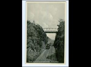 XX008200-028./ Görlitz Teufelsbrücke mit Bahnstrecke Eisenbahn AK