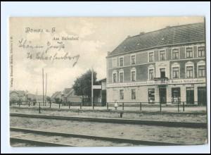 XX008323-193./ Dömitz Bahnhof AK