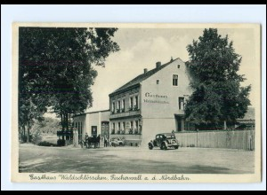 XX008172-167./ Fischerwall a.d. Nordbahn Gasthaus Waldschlößchen AK