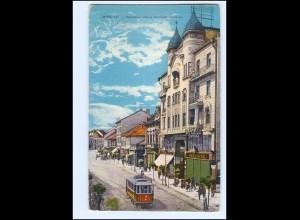 XX009041/ Miskolc Straßenbahn AK 1917 Ungarn