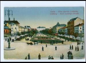 XX008440/ Ukraine Lemberg Karl Ludwigs-Straße AK