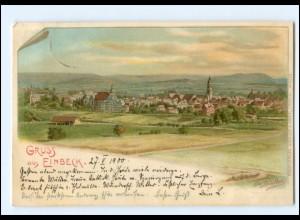 XX009053-3352/ Gruß ein Einbeck Litho AK Erw. Spindler 1900