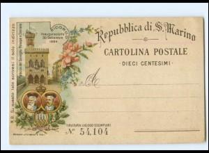 XX009154/ Repubblica di S. Marino Litho AK 1894