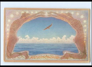 XX009157/ Fidus - Meeres-Mittagweiten AK 1924