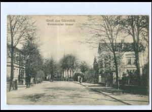 XX10206/ Gütersloh Wiedenbrücker Straße AK 1907