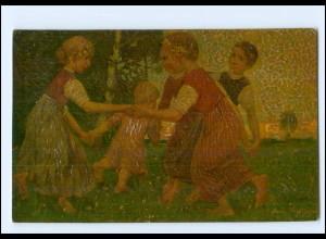 Y15052/ Degi-Gemälde AK Kinderreigen ca.1915